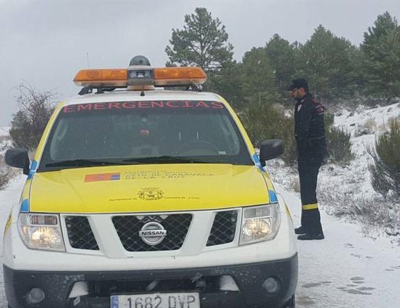 La Región estará este viernes y sábado en alerta por nieve, viento y fenómenos costeros