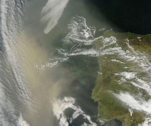 El polvo sahariano dispara la contaminación de aire por partículas en la Región