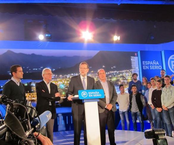 Rajoy preside en Murcia este sábado la Junta Directiva del PP y dará un paseo por la capital