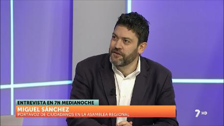 Miguel Sánchez niega una crisis interna en Ciudadanos y que los cinco ediles de Molina le deban una explicación