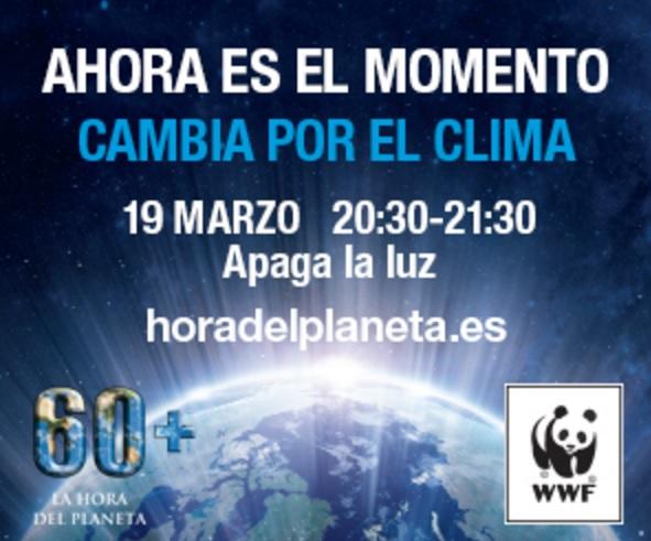 La Región se apaga a 'La Hora del Planeta'