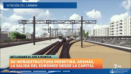 El AVE llega a Murcia en realidad virtual