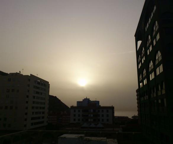Medio Ambiente advierte de la llegada de polvo en suspensión en masas de aire africano