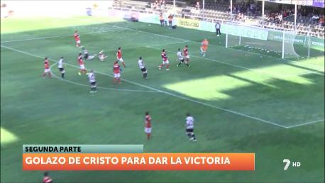 El FC Cartagena se acerca a los puestos de Copa del Rey