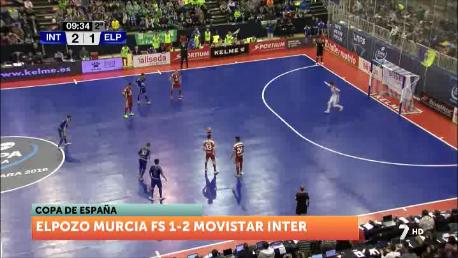 ElPozo cae derrotado en la final ante el Inter