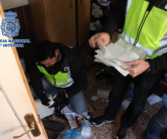 La Policía Nacional desarticula una red internacional responsable de estafas por valor de 2,5 millones