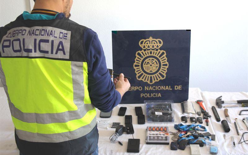 Tres detenidos tras perseguir a un coche de alta gama por Murcia para robarlo