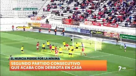 El Real Murcia pierde en casa por segunda vez consecutiva