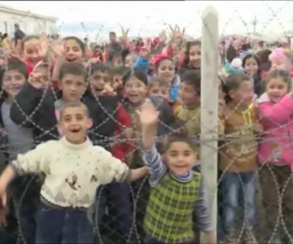 Miles de ciudadanos se manifiestan en contra del acuerdo sobre los refugiados