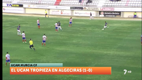 El UCAM pierde frente al Algeciras en el último minuto