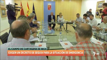 Agricultura propone la legalización de pozos y adecuación de conducciones hasta El Mojón