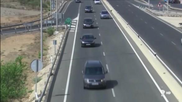 Más de 450.000 desplazamientos en las vías murcianas durante el fin de semana