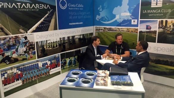 La Costa Cálida se posiciona en Europa como destino ideal para acoger concentraciones de equipos de fútbol