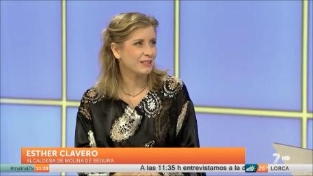 La alcaldesa de Molina de Segura, Esther Clavero, anuncia que padece cáncer