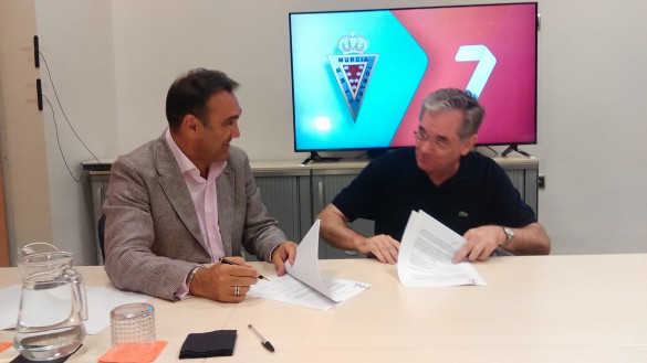 7TV y el Real Murcia firman un acuerdo para la retransmisión de partidos