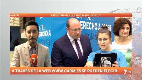 Los ciudadanos de la Región podrán decidir el destino de 13 millones de euros de los Presupuestos