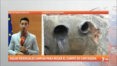 El Campo de Cartagena tendrá 2,7 hm3 más con un desvío de agua depurada