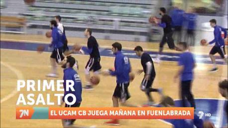 Doble asalto entre el UCAM Murcia y el Fuenlabrada