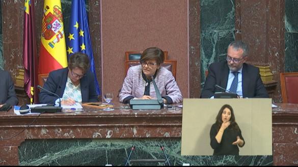 López Miras pierde la votación en la primera sesión del debate de investidura