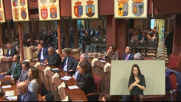 La Asamblea debate la investidura de López Miras como presidente regional