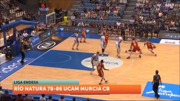 El UCAM firma un gran partido en Santiago y apuntala la permanencia (78-86)