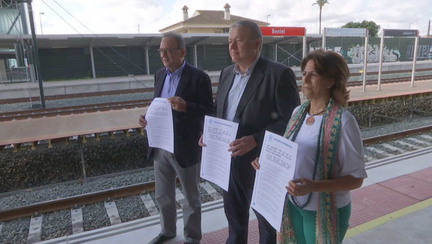 """Bernabé sostiene que la única opción """"seria"""" para llegada del AVE es la de Murcia"""