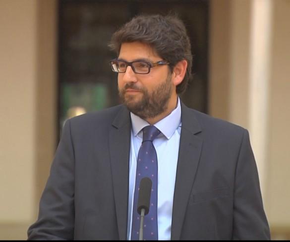 El alcalde de Lorca, el médico Manuel Villegas y Javier Celdrán entran en el nuevo Gobierno