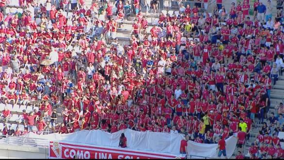 El Real Murcia-Mestalla fue visto por 21.000 personas en la grada y 122.000 en 7TV