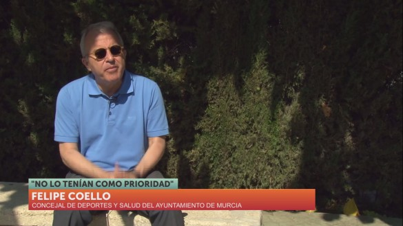 Felipe Coello, el político más atípico del Ayuntamiento de Murcia