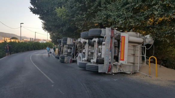 Un total de 18 heridos en 13 accidentes el fin de semana en las carreteras de la Región