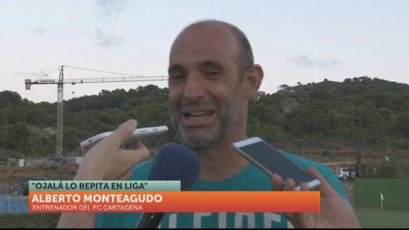 "Monteagudo: ""Han venido todos los que queríamos"""