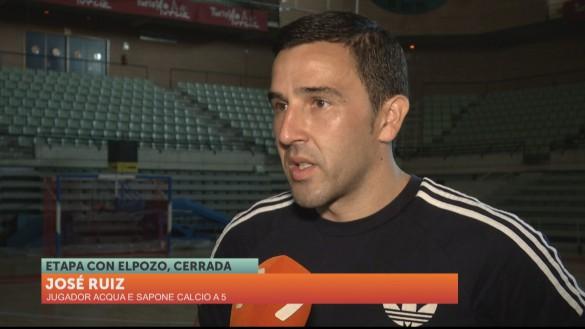 """José Ruíz: """"Complicado que vuelva, porque ya tengo 34 años"""""""