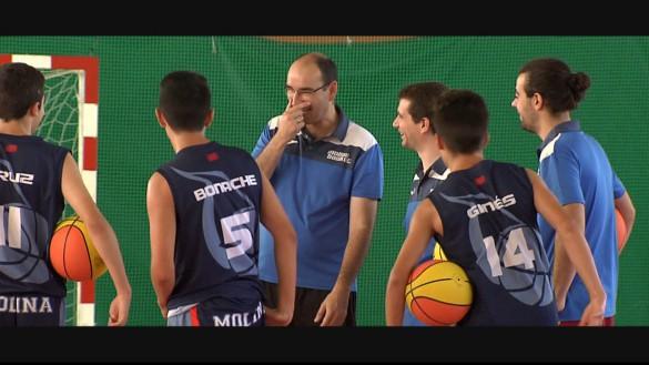 Molina Basket en Belfast para participar en el torneo internacional Holiday Hoops