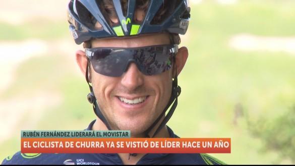Rubén Fernández regresa a la Vuelta como líder de Movistar