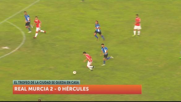 El trofeo Ciudad de Murcia se queda en la Nueva Condomina