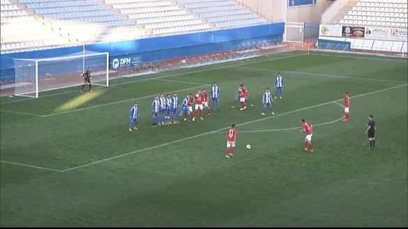El Lorca Deportiva no puede con el Ejido (2-0)