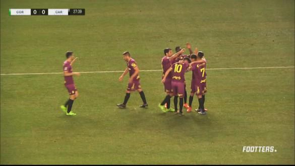 El Cartagena aguanta el liderato en Córdoba B (0-1)