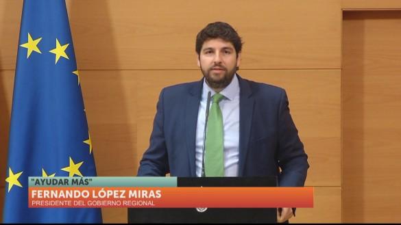 """López Miras presenta un remodelado Gobierno """"que seguirá creciendo para crear oportunidades"""""""