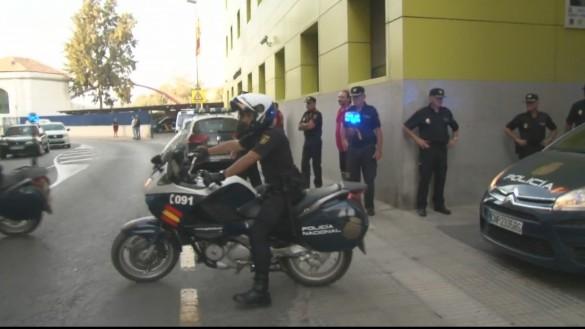 Abogados catalanes denuncian como soborno la invitación de hosteleros murcianos a policías del 1-O