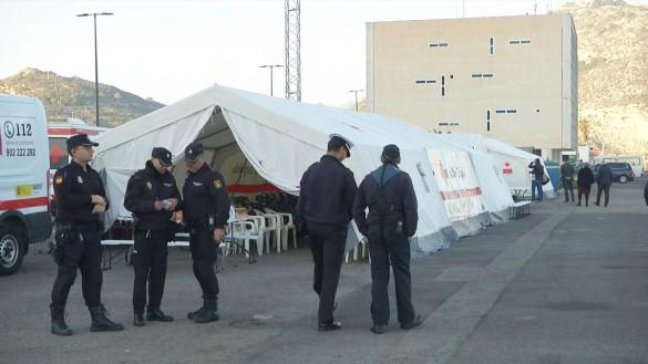 Una patera interceptada en la Región con ocho inmigrantes a bordo