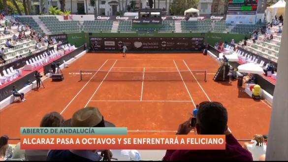 Carlos Alcaraz pasa a octavos en el Abierto de Andalucía y se enfrentará a Feliciano López