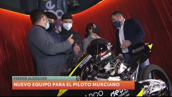 Nuevo equipo para el piloto murciano de Moto2 Fermín Aldeguer