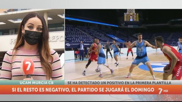 Detectado un positivo en la plantilla del UCAM Murcia CB