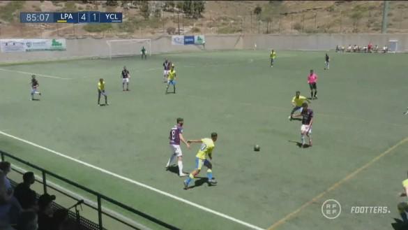 La salvación se pone cuesta arriba para el Yeclano tras perder en Las Palmas (4-2)