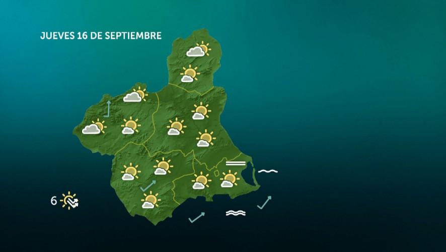 Temperaturas mínimas en descenso, sin descartar lluvias dispersas