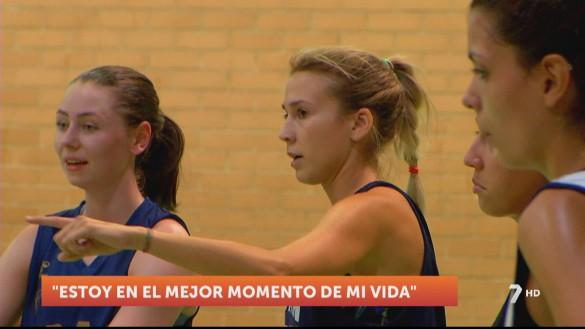 Saray Calvo, las dos caras del baloncesto y la vida