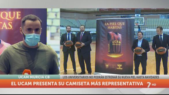 El UCAM Murcia presenta una sorprendente nueva equipación