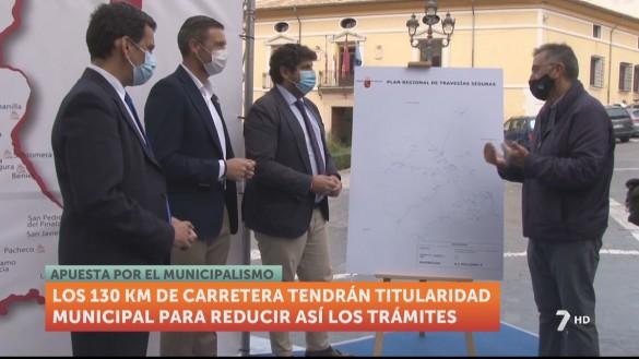 La Comunidad invertirá casi 10 millones de euros en mejorar travesías urbanas