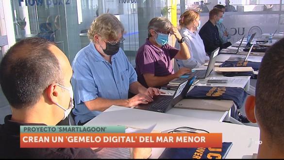 Un 'gemelo digital' del Mar Menor podría servir para prever y evitar nuevos desastres